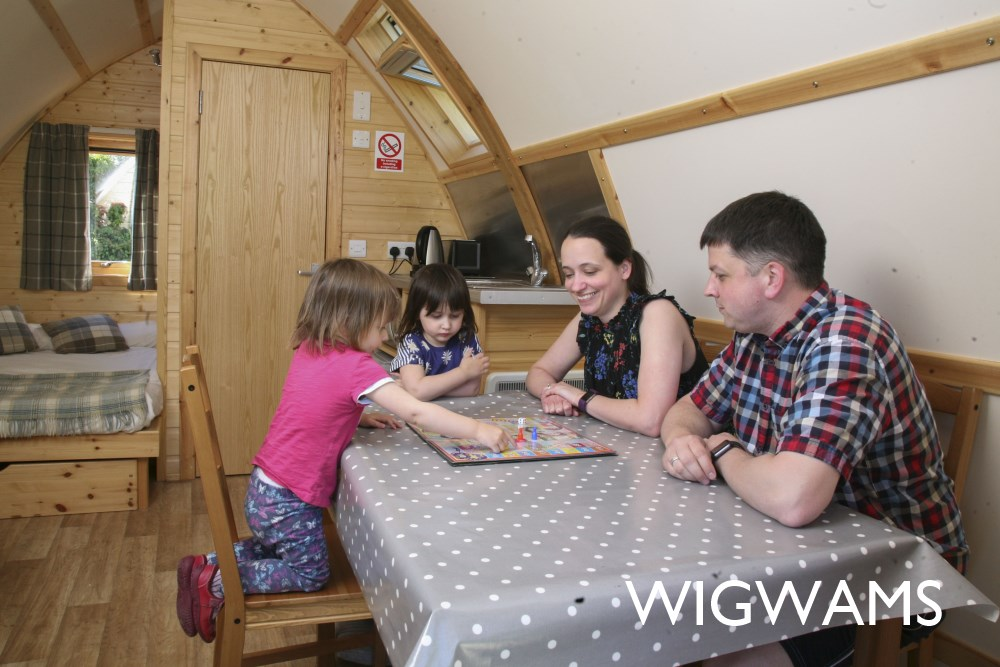 Take a look at our Wigwams